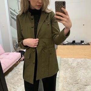 Zara Jacket Army